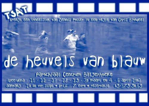 affiche Heuvels